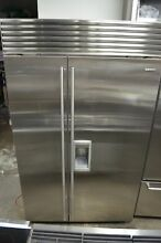 Sub Zero 48  Built In Side by Side Stainless Steel Refrigerator BI48SDSPH