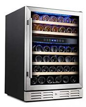 Kalamera 24  Wine refrigerator 46 Bottle Dual Zone Built in and
