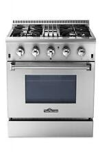 Thorkitchen HRD3088U 30  Freestanding Professional Style Dual Fuel Range