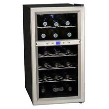Koldfront TWR181ES 14 W 18 Bottle Wine Cooler with Dual Thermoelectric Cooling Z