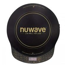 NuWave Platinum 30401 Precision Induction Cooktop  Black with Remote and