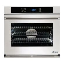 Dacor 30  4 8 Cu Ft  Total Capacity Electric Single Wall Oven SS RNWO130PS