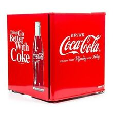 Husky Coca Cola Table Top Drinks Fridge  48L Serve Perfectly Chilled Drink