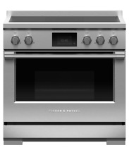 Fisher   Paykel 36  Stainless Pro Duel Fuel Range with 6 Burners   RDV2 366N