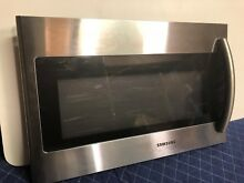 Samsung ME18H704SFG Microwave Door Part Over The Range OEM Original Door
