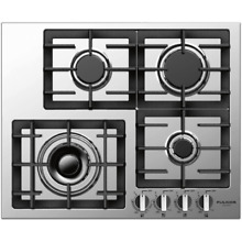 Fulgor Milano F4GK24S1 24 W Gas Cooktop with Electric Re Ignition  400 Series