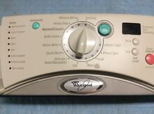 Whirlpool Duet Washer Control Console 8182710