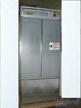 KitchenAid KBFN406EPA00 20 8 Cu  Ft  36  Built In Panel Ready French Door Refrig