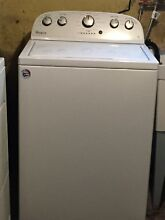 Whirlpool washer and dryer set   electric