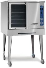 IMPERIAL 24 in Self Cleaning Convection Single Gas Wall Oven  Stainless Steel
