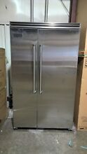 Viking 5 Series 48  Stainless Built in Refrigerator   Out of Box   VCSB5483SS