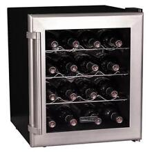 Koldfront TWR160S 17 Inch Wide 16 Bottle Wine Cooler with Thermoelectric Cooling