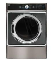 Kenmore Elite 9 0 cu  ft  Front Control Electric Dryer with Accela Steam in