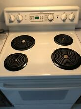 Electric range stove