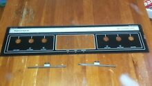 Vintage Kenmore Stove Glass Control Panel Cover Replacement ECG 309334