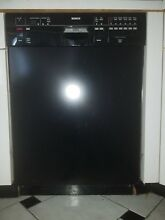 BOSCH Full Console Dishwasher SHU66C Black in Great condition