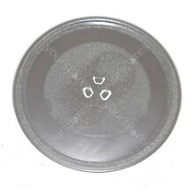 Microwave Turntable Glass Plate Fits Morphy Richards and Panasonic 255mm