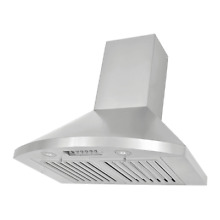 Kobe RA9236SQB 1 750 CFM 36  Stainless Steel Wall Mounted Range Hood with QuietM