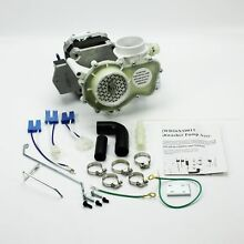 ERGEDWM For WD26X10013 GE Hotpoint Kenmore Dishwasher Motor and Pump Kit