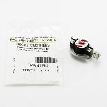 WP3404154 Whirlpool Clothes Dryer High Limit Thermostat