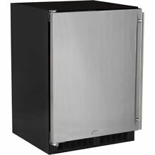 Marvel ML24RAL 24  Wide 5 1 Cu  Ft  115 Can Built In Beverage Center with LED Li