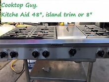 Kitchen Aid 48  Pro Stainless Rangetop 6   griddle  in los angeles