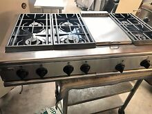 GE Monogram 48  Pro Stainless Gas Rangetop 6  griddle in los angeles