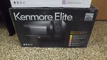 FACTORY SEALED Kenmore 79399 2 2 cu  f  Countertop Microwave Oven Inverter Black