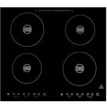 Summit SINC424 220 24 Induction Cooktop with 4 Cooking Zones with 7 Piece Induct
