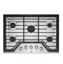 NEW  never used Whirlpool WCG77US0HS 30  Stainless Gas Cooktop 5 Burner