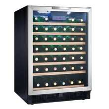 Danby DWC508 24 Inch Wide 50 Bottle Capacity Free Standing Wine Cooler with LED