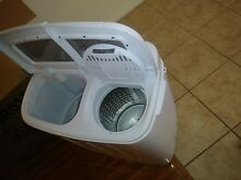 New portable washing machine Box  tags  instructions included I never used it