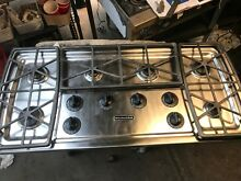 Kitchen Aid 46  Stainless  Gas  Cooktop in Los Angeles