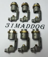 SET of 6 Genuine Thermador Gas Cooktop JET HOLDERS 20 02 309 05