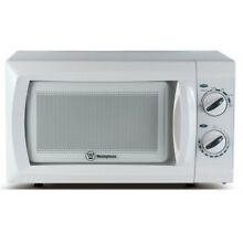 Microwave Oven 0 6 cu ft Built In White Compact Lightweight Home Kitchen Cooking