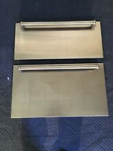 Sub Zero 30  Refrig and Freezer Drawers ID 30CI Stainless Steel Door Panels