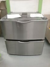 Samsung 27  Washer Dryer Pedestal Bases w drawer Silver Local Pick up or Freight