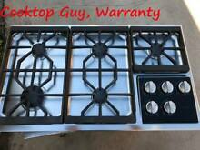 Wolf 36  Stainless GAs Cook Top  with lights  in los angeles
