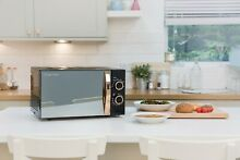 Russell Hobbs RHM1727RG 17L 700w 5 Power levels Black Rose Gold Manual Microwave