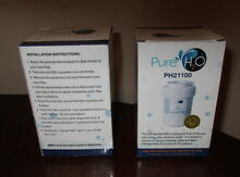 Pure H2O PH21100 Filter Lot 2 Refrigerator Smart Water GE Kenmore Sears Hotpoint