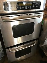 GE Double Wall Oven Excellent Condition
