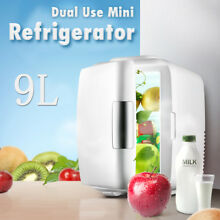Portable 9L Dual Use Mini Fridge Refrigerator Cooling   Heating Car