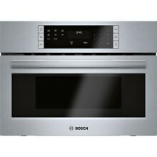 Bosch HMB57152UC 27 Inch Wide 1 6 Cu  Ft  Built In Microwave with Automatic Sens