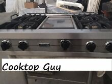 Viking 36   Pro Stainless Rangetop 4  Griddle    Propane or  gas