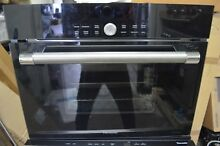 Thermador 24  Black Single Combination Steam  Convection Wall Oven MES301HP