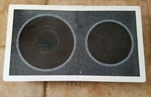 Genuine OEM GE Electric Radiant Glass Cooktop MODULE JXDR50 White