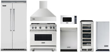 Viking Professional Kitchen Appliance Package with Bar