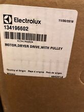 134196602  Electrolux Frigidaire Motor  Dryer Drive With Pulley  Genuine OEM