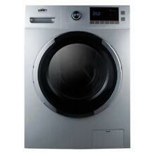 Summit SPWD2201SS Stainless Steel 2 0 Cu  Ft  Washer Dryer Combo