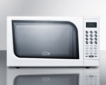 Summit SM901WH White 18 Inch Wide 0 7 Cu  Ft  700 Watt Countertop Microwave